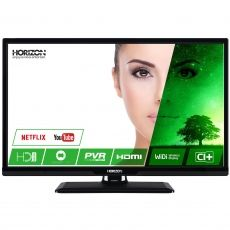 "LED TV HORIZON 24"" 24HL7130H HD SMART BLACK - RESIGILAT"