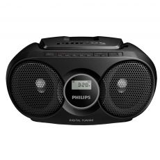 SISTEM AUDIO PHILIPS CD PLAYER 3W BLACK AZ215B