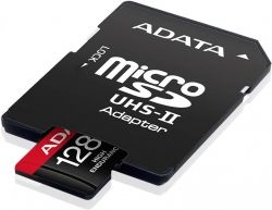 MICRO SD A-DATA 128GB CLASA 10 + ADAPTOR SD AUSDX128GUI3V30SHA