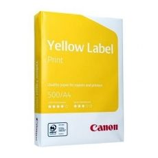 CANON HARTIE A4 80G/MP 500SH YELLOW LABEL