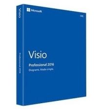APLICATIE MICROSOFT VISIO PROFESSIONAL 2016 ENG MEDIALESS D87-07120