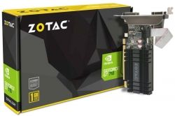PLACA VIDEO ZOTAC GEFORCE GT 710 ZT-71301-20L PCI-E 1GB DDR3