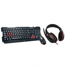 KIT GENIUS 3-IN-1 GAMING KMH-200 + CASTI HS-G500
