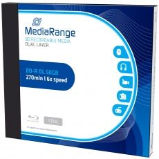 BD-R MEDIARANGE DUAL LAYER 50GB 6X JEWEL CASE MR506