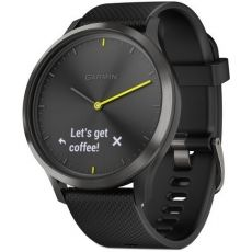 SMARTWATCH GARMIN HIBRID VIVOMOVE HR BLACK CUREA BLACK 010-01850-01
