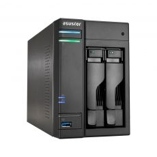 NAS ASUSTOR AS6102T 2-BAY INTEL CELERON DUAL-CORE 2GB SODIMM