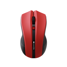 MOUSE CANYON CNE-CMSW05R 2.4GHZ WIRELESS OPTICAL 4 BUTTON RED